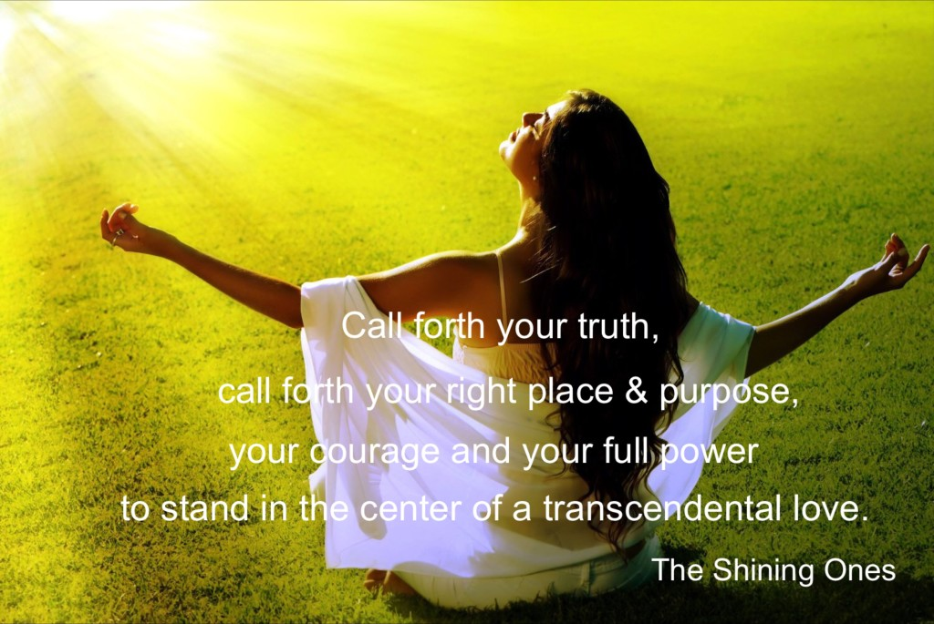 call forth your truth
