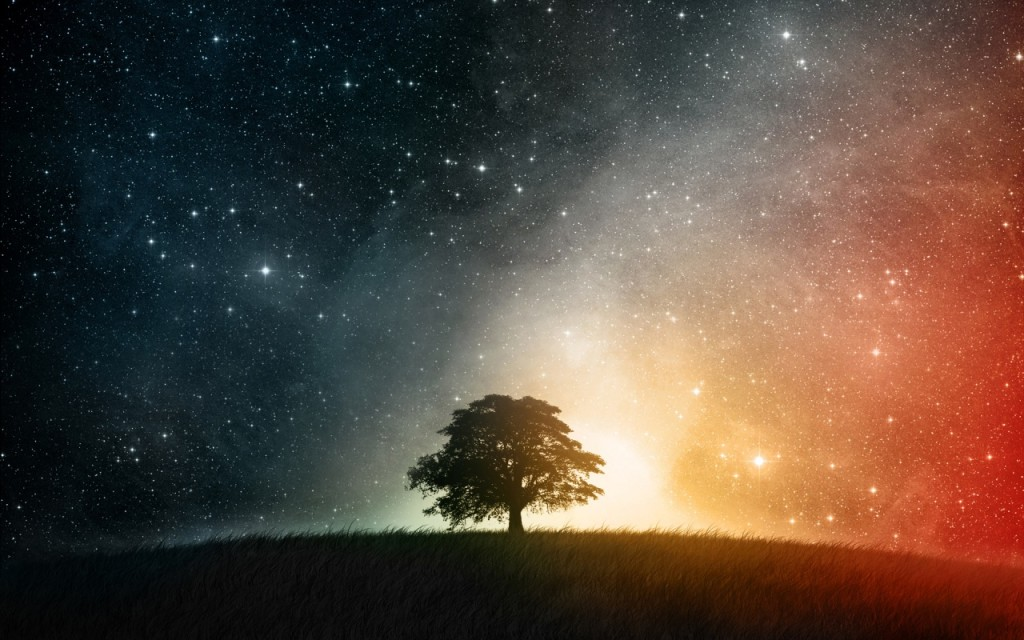 Night-Sky-Tree-Universe-HD-Pictures