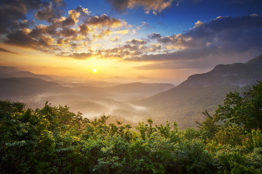 highlands-sunrise-whitesides-mountain-in-highlands-nc-dave-allen