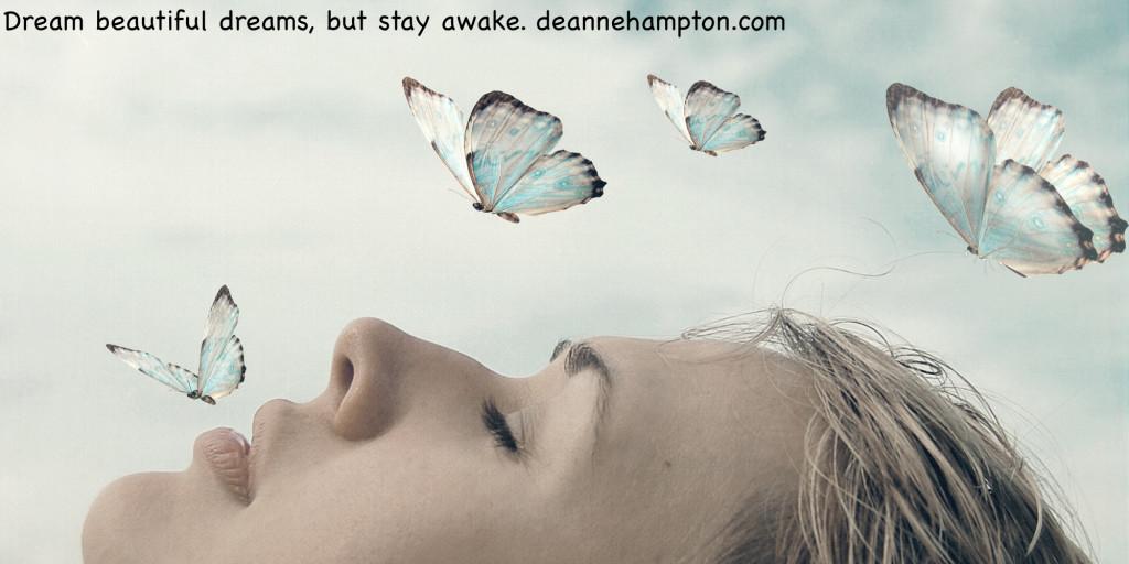 Dream with butterflies