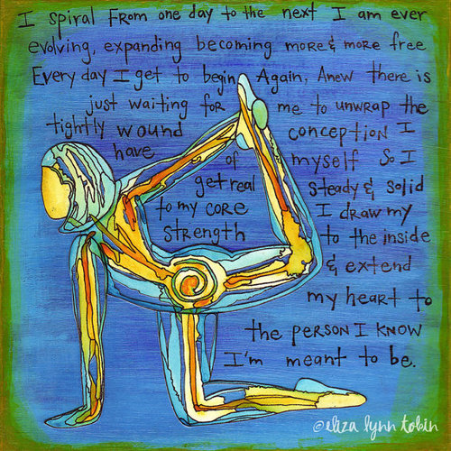 Spiral Yogaart Elizalynntobin
